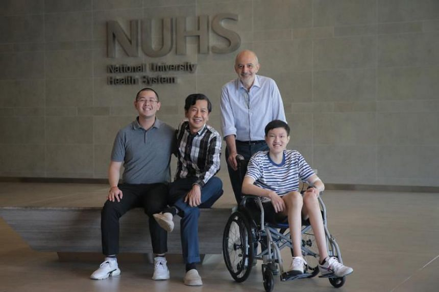 The treatment was developed by Professor Dario Campana (standing), an expert in advanced cellular therapy from the National University of Singapore Yong Loo Lin School of Medicine.