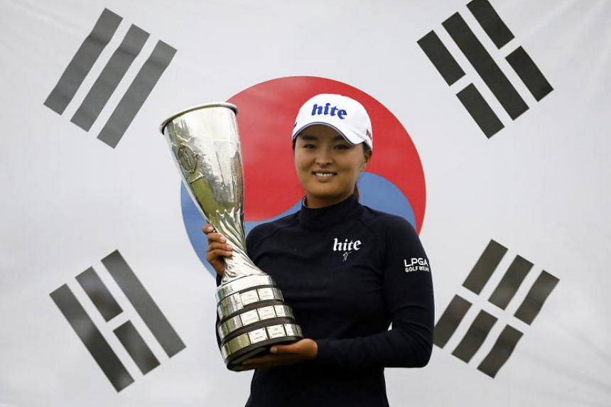 Ko Jin-young snatched top spot with a victory in the Evian Championship on July 28, 2019.