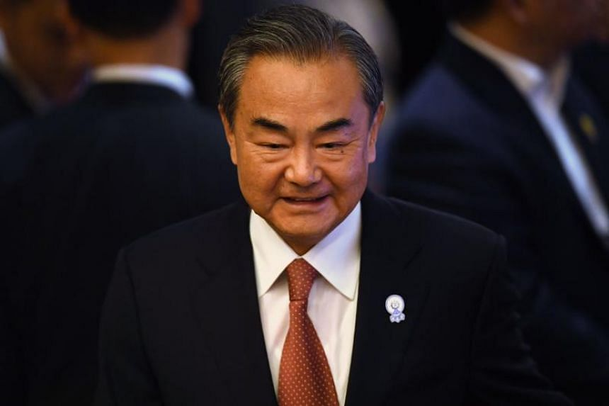 In a press conference, China's Foreign Minister Wang Yi expressed support for Asean's recently drafted vision of the Indo-Pacific region.
