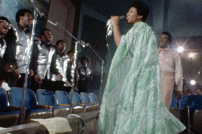 Singer Aretha Franklin recorded her biggest-selling album over two nights at the New Temple Missionary Baptist Church in Los Angeles in 1972.