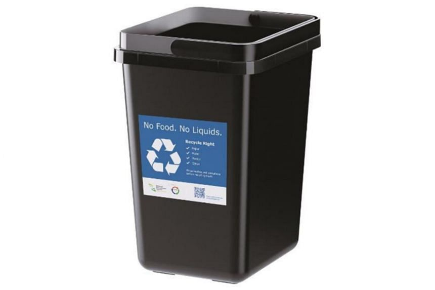 The bins are designed to be durable, washable, functional, and come in neutral colours.