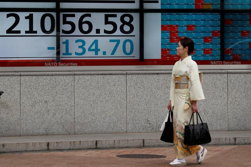 MSCI's broadest index of Asia-Pacific shares outside Japan slid 0.4 per cent, extending losses for a fifth day to the lowest since mid-June.