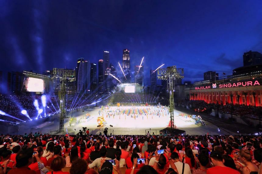 The area around the Padang has been designated a special event area where strict security measures will be imposed.