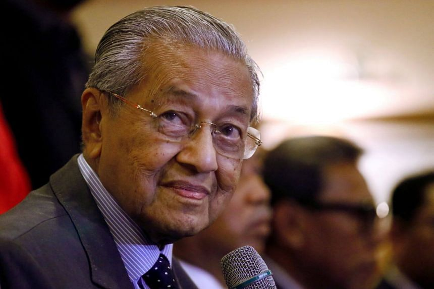 PM Mahathir Mohamad said his government was also working on increasing the female labour force participation rate to 59 per cent by next year.