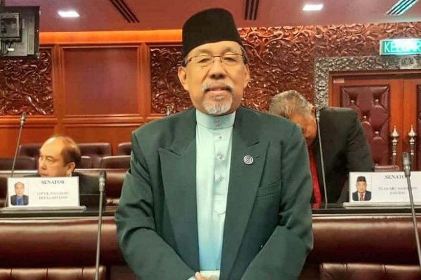 Mr Mohamad Imran Abdul Hamid, a senator from the country's ruling coalition, made the comments during a debate in Parliament's upper house on July 31, 2019.