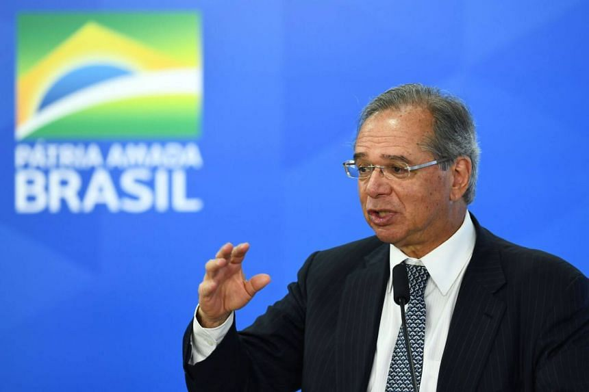 Brazil's Economy Minister Paulo Guedes said the United States was eager for a deal and the chance to sell Latin America's largest economy more goods, including ethanol.