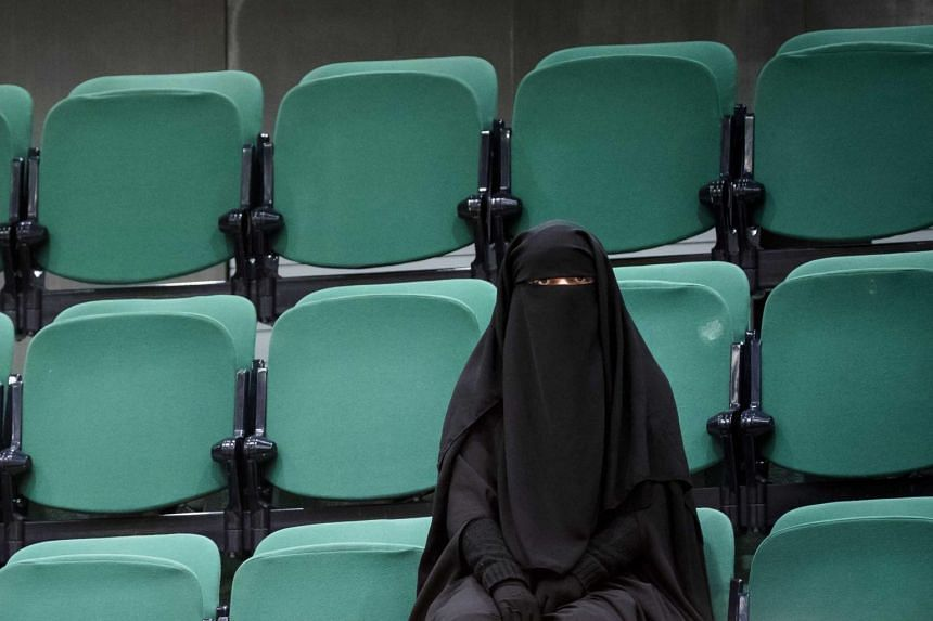 The ban also applies to other face coverings such as full-face helmets or balaclavas.
