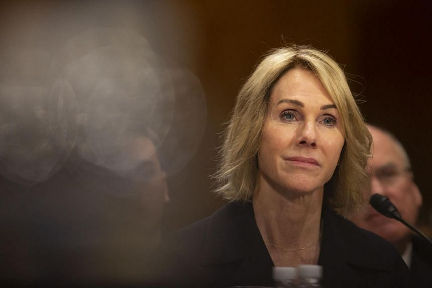 Ms Kelly Knight Craft served previously as US ambassador to Canada.