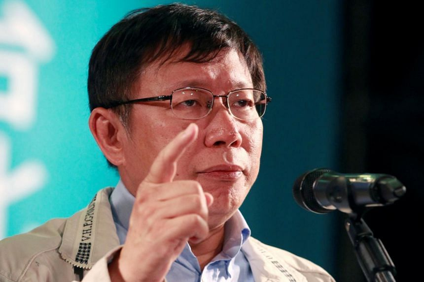 Taipei mayor Ko Wen-je said he will set up the Taiwanese People's Party in early August in a bid to run in legislative elections in January.
