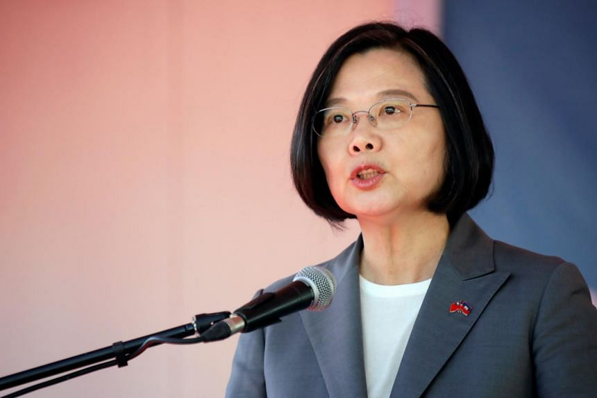 """Taiwan President Tsai Ing-wen told reporters in Taipei that China's use of mainland tourists as """"political tools"""" would create antipathy in Taiwanese people."""