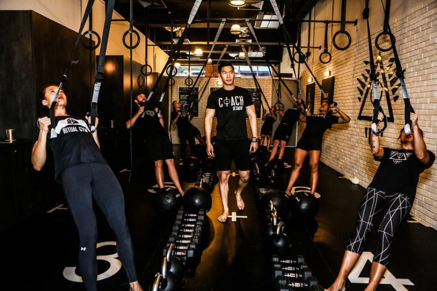 The boutique gym offers 20-minute high-intensity interval training (HIIT) workouts.