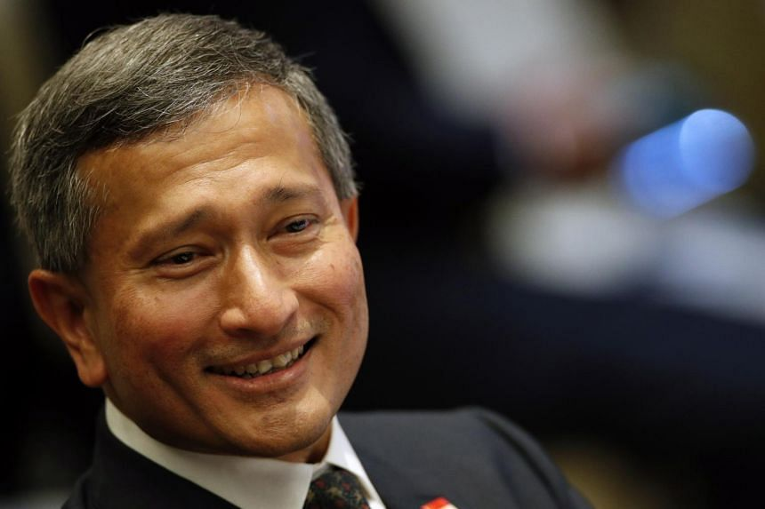 """We are making good progress on the Asean perspective,"" said Singapore's Foreign Minister Vivian Balakrishnan in Bangkok on Aug 1, 2019."