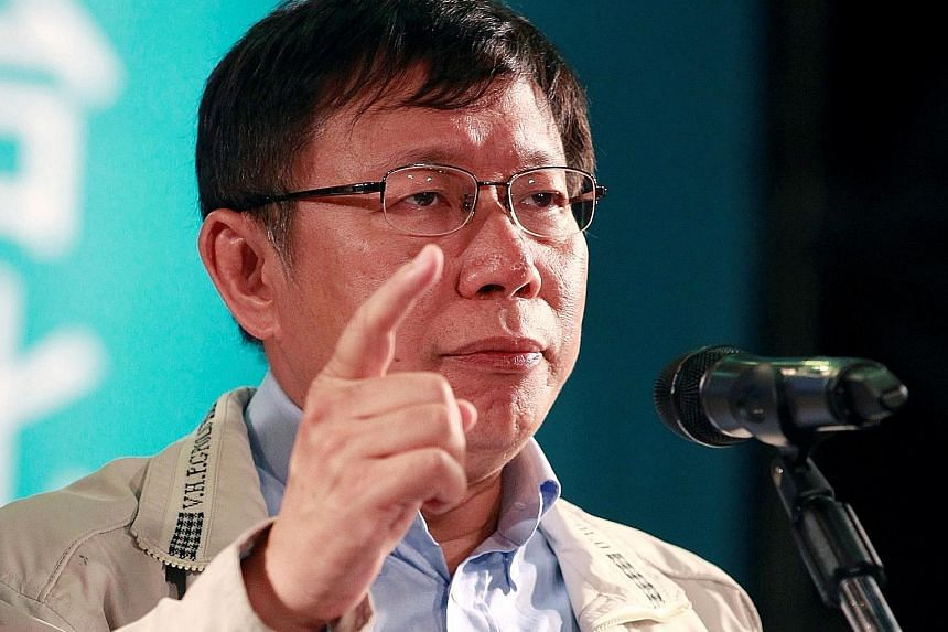 Taipei Mayor Ko Wen-je says he will decide whether to run in the presidential race by early next month.