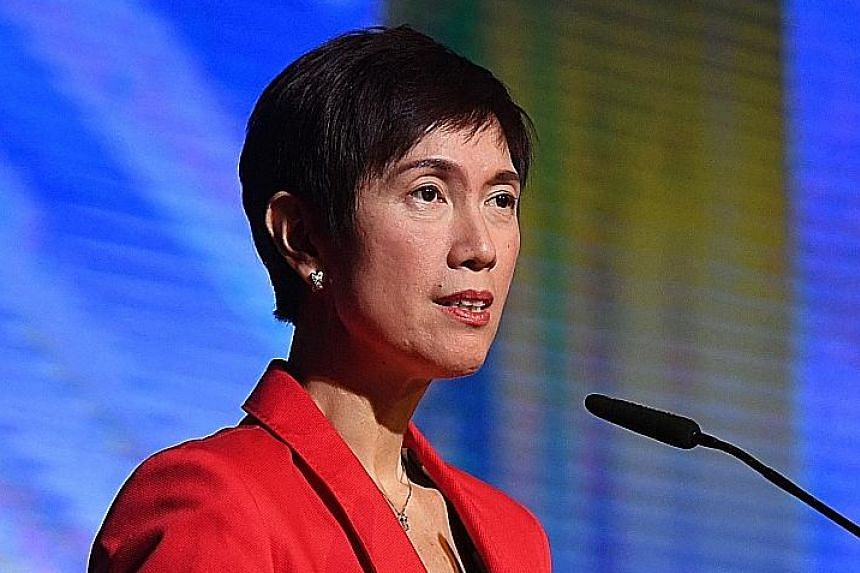 SECOND MINISTER FOR HOME AFFAIRS JOSEPHINE TEO