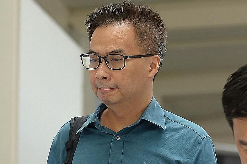 Robert Arianto Tjandra (left) of subcontractor CPG Consultants, Or Kim Peow Contractors' project director Allen Yee (above) and project engineer Wong Kiew Hai (below) are on trial over the PIE viaduct collapse that left one worker dead and 10 others