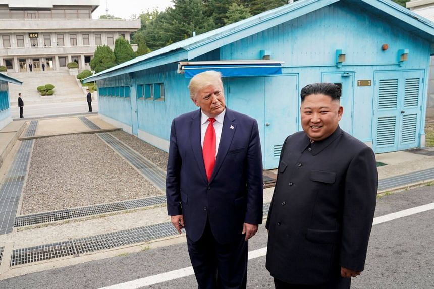 US President Donald Trump, who has been hoping to revive denuclearisation talks with North Korea, played down the launches, which have come in spite of his June 30 meeting between North Korean leader Kim Jong Un at which they agreed to revive stalled