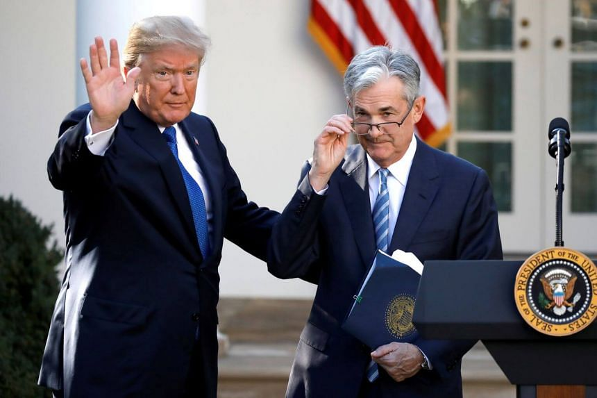 Something from US President Donald Trump that would remind Federal Reserve chairman Jerome Powell that it's no time to get complacent about rates.