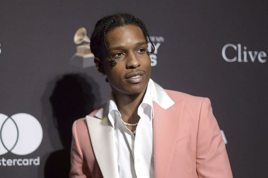 A$AP Rocky at an event in Beverly Hills, California, in February 2019.