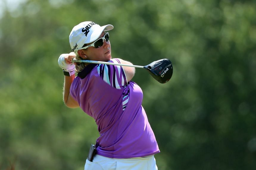 Buhai (above, in a file photo) notched eight birdies in a seven-under-par 65.