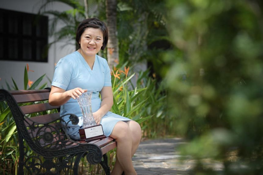 Nurse clinician Hu Xiaomei's dedication to her profession earned her the prestigious Nightingale Award, which recognises one nurse each year for providing excellent nursing care and being an exemplary mentor to other nurses.