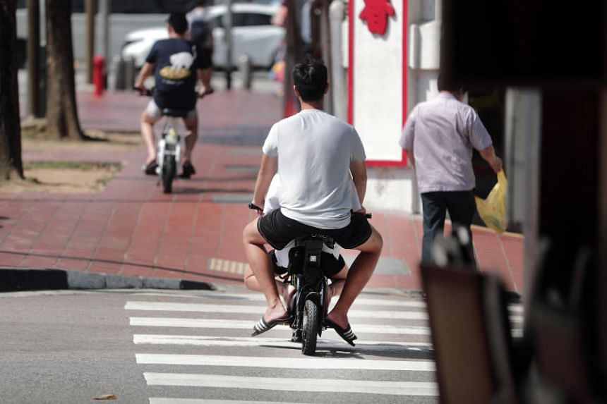 Under new rules that took effect in July 2019, it is illegal for personal mobility device users to ride, cause or allow another person to ride an unregistered e-scooter on public paths.