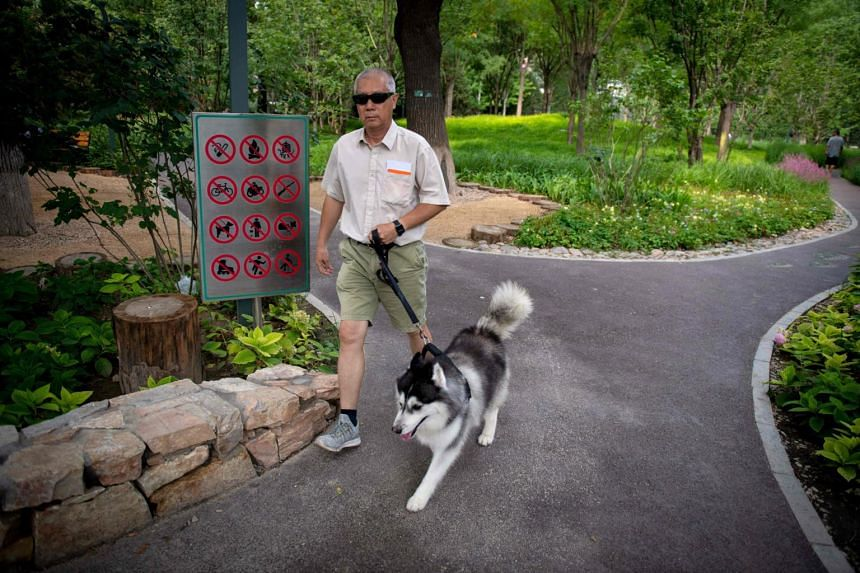 The Beijing Gardening and Greening Bureau published a blacklist of uncivilised behaviours in public parks, including activities such as walking pets, making loud noises, digging wild vegetables or fishing.