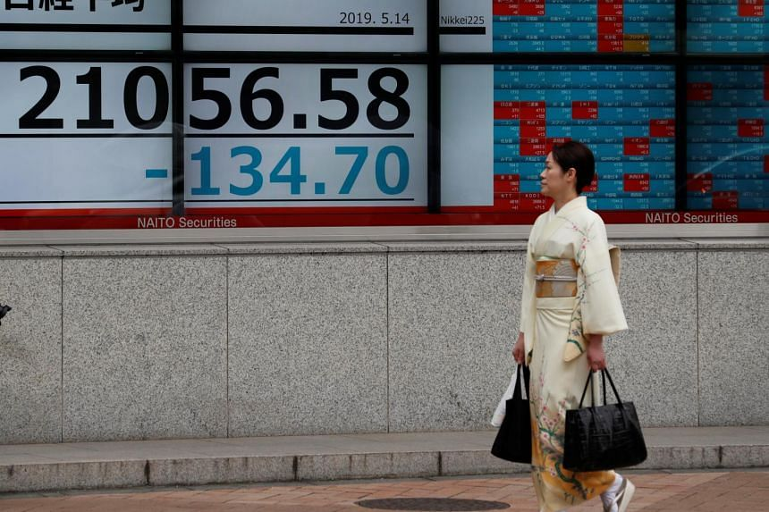 The benchmark Nikkei 225 index lost 1.94 per cent or 418.56 points to 21,122.43 in early trade.