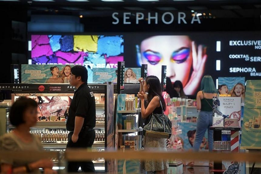 Singapore-based cyber security firm Group-IB said the Sephora customer records offered for sale on the Dark Web had information such as customers' login details as well as gender, full names and ethnicity.