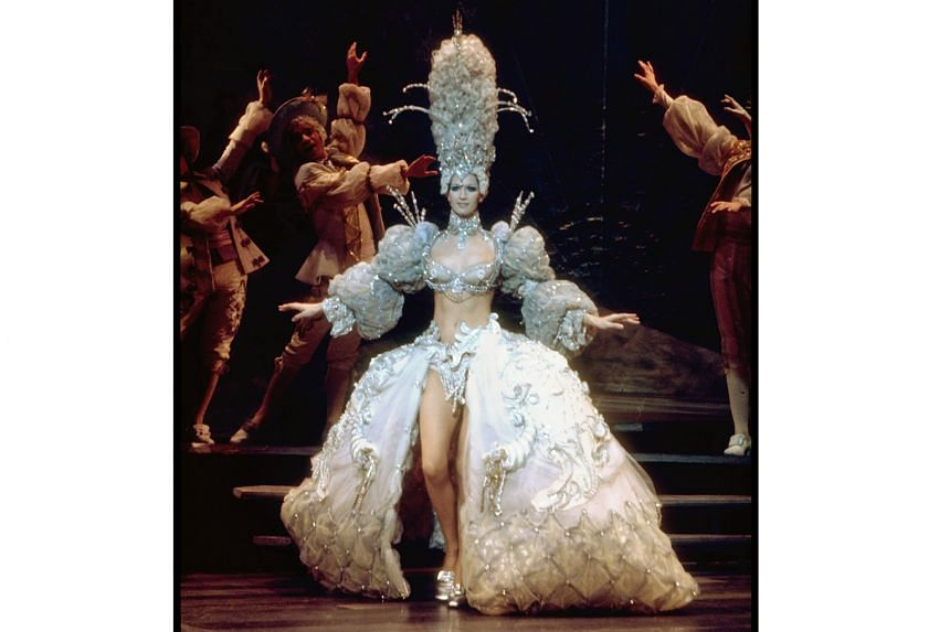 A scene from Follies, for which Hal Prince won a Tony in 1971, in New York.