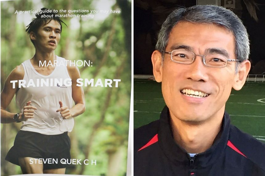 Veteran running coach Steven Quek is aiming to raise $30,000 for charity with sales from his book, Marathon: Training Smart. He hopes to provide proper guidance to runners who do not have a coach.