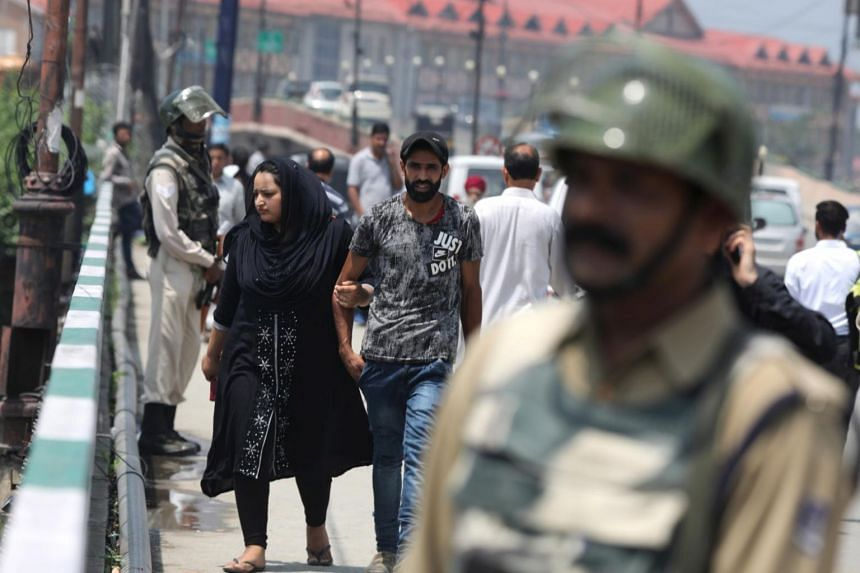 New Delhi has opposed any international or third-party mediation in Kashmir, though it has been repeatedly sought by Pakistan in various international fora including the United Nations.
