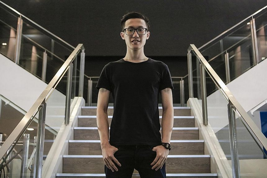 Mr Eric Ng, a former Institute of Technical Education student, graduated with a master's degree in architecture last month, despite constant rejections along the way.