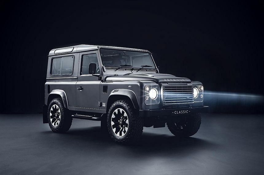 Land Rover unveils kits to upgrade the Defender.