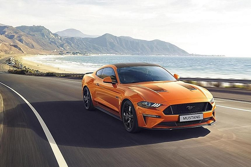 Ford's anniversary Mustang revealed.