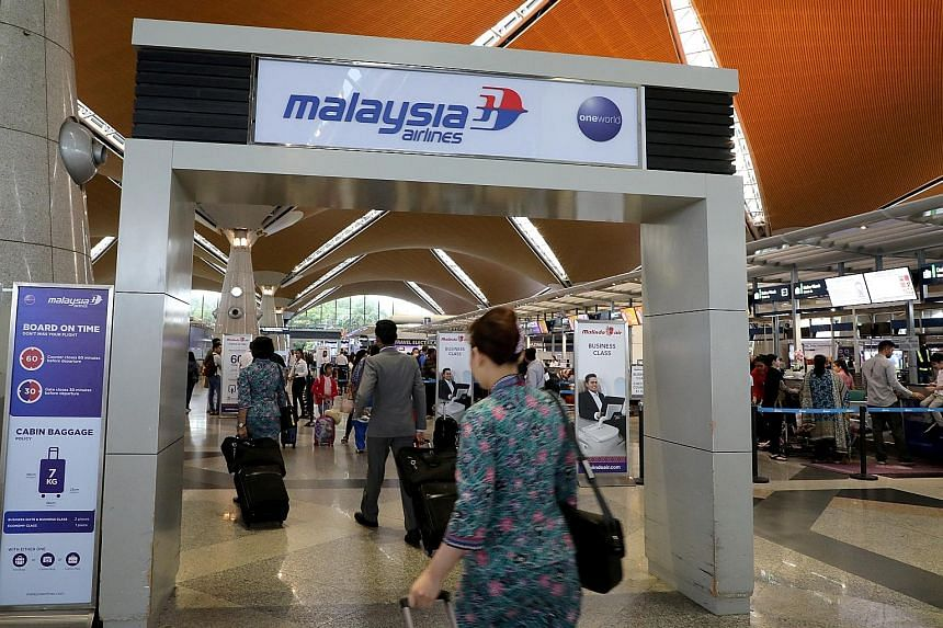 The Kuala Lumpur International Airport in Sepang. The levy imposed on travellers will depend on the destination and the class of airline flights. Cabin crew on duty will be among certain groups exempted.