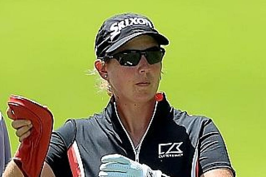 Ashleigh Buhai of South Africa, who has never won on the LPGA Tour, opened with a 65 that included eight birdies.