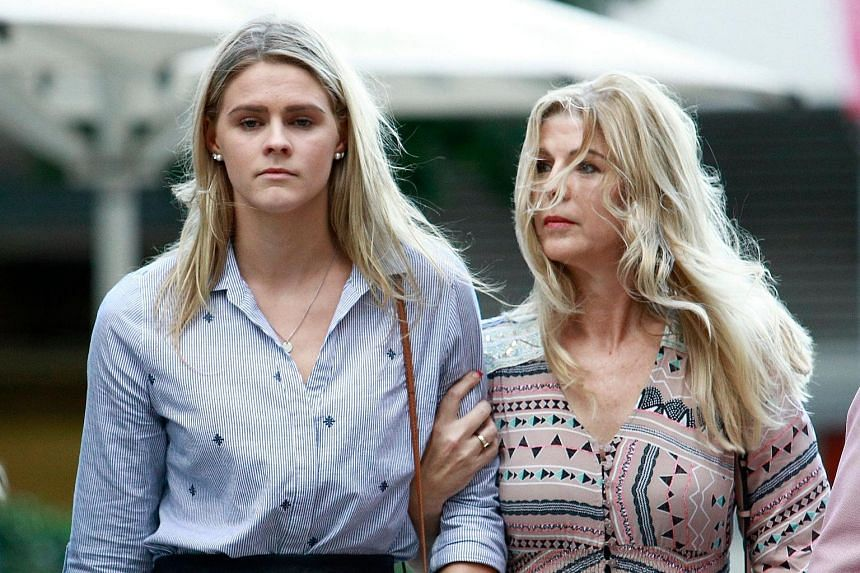 Swimmer Shayna Jack with her mother Pauline after yesterday's hearing in Brisbane with the Australian Sports Anti-Doping Agency. The swimmer is trying to clear her name after testing positive for Ligandrol. Her manager has said she did not ingest the