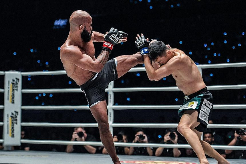 Demetrious Johnson was victorious in his flyweight grand prix semi-final bout against Tastumitsu Wada at One Championship's Dawn of Heroes event in Manila last night. The former Ultimate Fighting Championship star racked up a unanimous decision win a