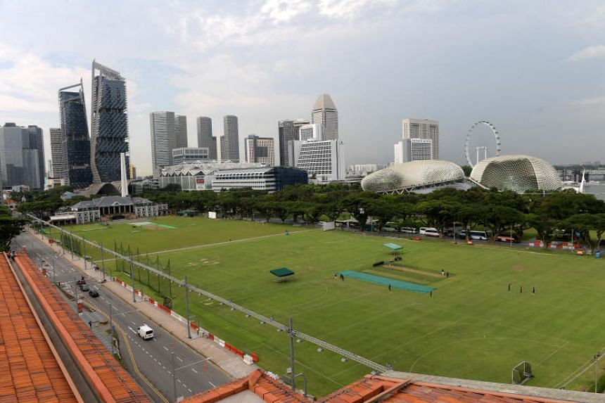 The Padang will be the first green, open space to join the Republic's stable of national monuments.