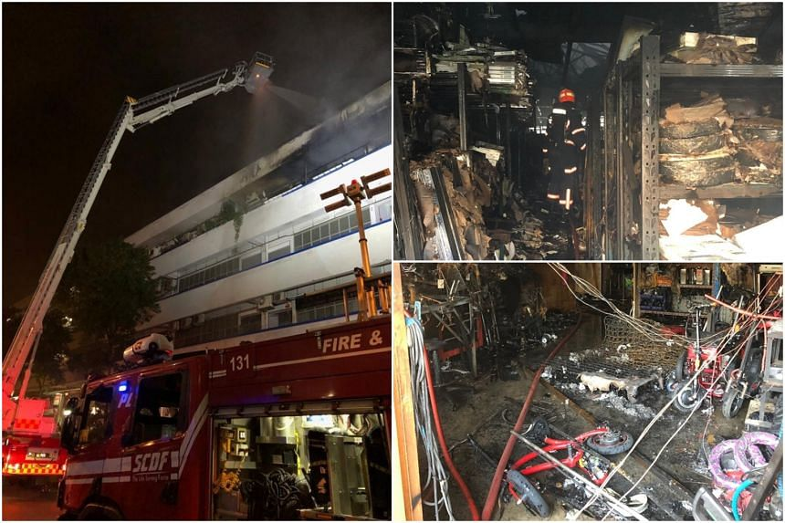 The Singapore Civil Defence Force was alerted to the fire at 2024 Bukit Batok Street 23 at about 1.20am on Aug 3, 2019.