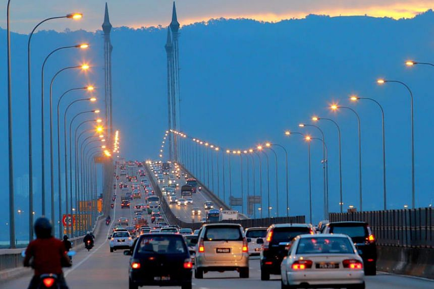 George Town police received a phone call from a witness saying the woman was seen jumping off the Penang Bridge.