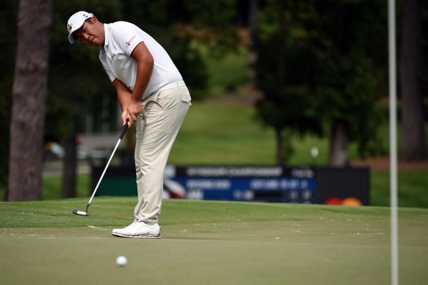An Byeong-hun remained bogey-free for the tournament as he carded a tidy five-under 65 in the second round.
