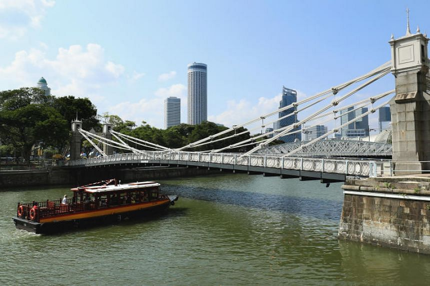 Cavenagh Bridge (above) will be gazetted as a national monument, along with the Anderson and Elgin Bridges.