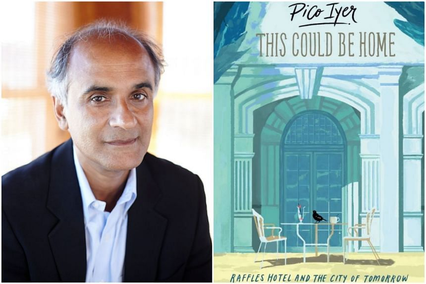 Pico Iyer, a Britain-born American globe-trotter, felt the hotel to be exotic, yet instinctively familiar.