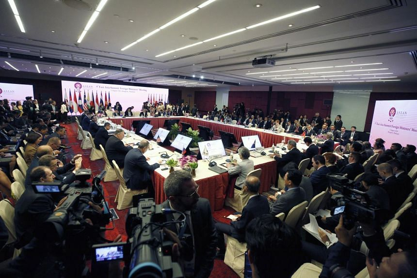 9th East Asia Summit Foreign Ministers' Meeting at the 52nd ASEAN Foreign Ministers' Meeting in Bangkok, Thailand, on 2 August 2019.