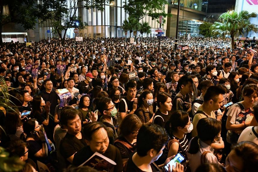 The observation by Mrs Rita Fan, who was the first president of the Hong Kong SAR Legislative Council and a member of the Standing Committee of the National People's Congress, came after repeated protests over a now-suspended extradition Bill in the