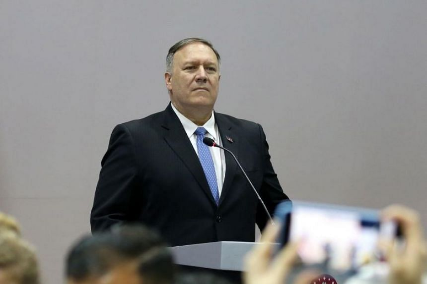 US Secretary of State Mike Pompeo said Washington would continue to enforce sanctions against Iran.