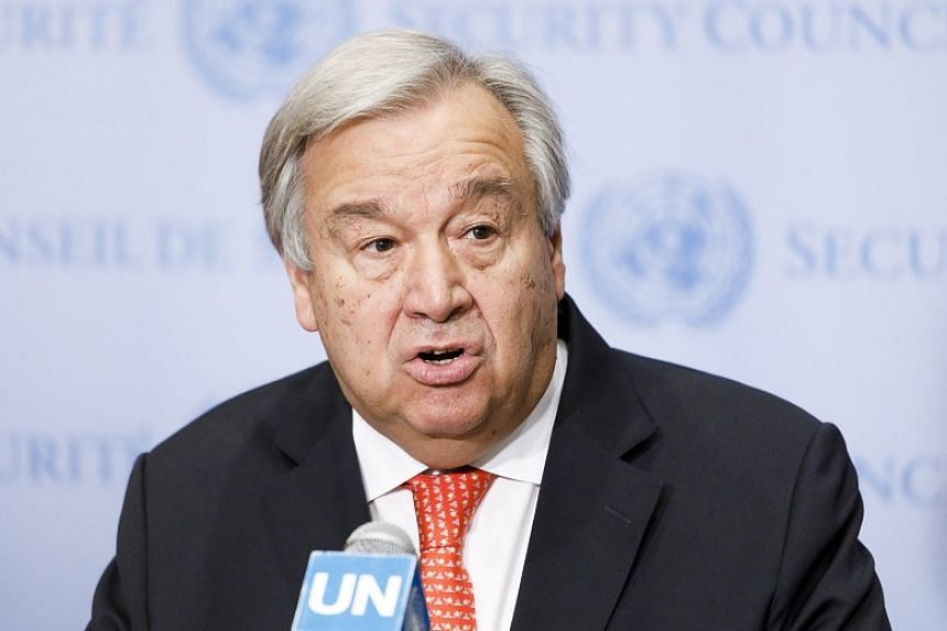 UN Secretary-General Antonio Guterres said the UN human rights office received and analysed accounts of North Koreans who had experienced detention, the vast majority of them women who escaped initially to China.