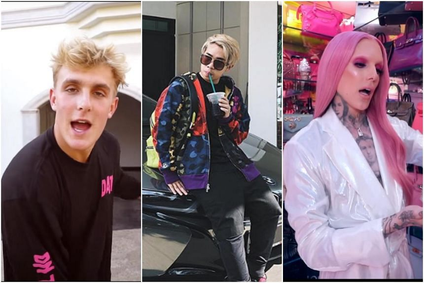Palatial homes, flashy cars and luxury goods are a few of YouTube celebrities' favourite things to splurge on.