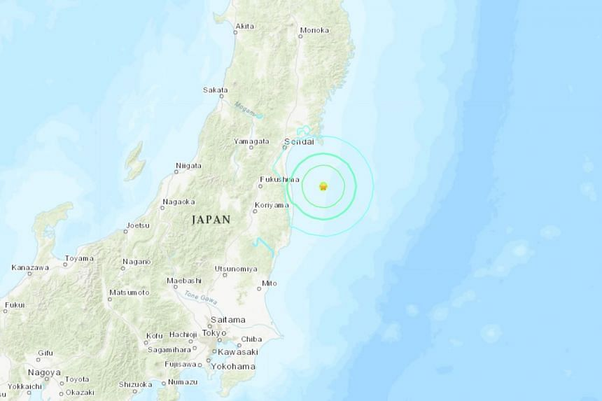 The quake, which had a preliminary magnitude of 6.2, struck off the north-eastern coast of Japan, on Aug 4, 2019.